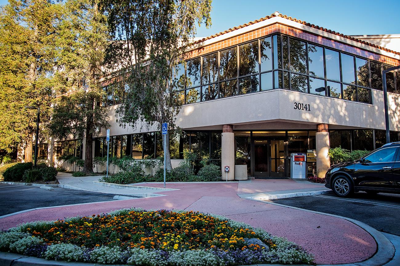 Facade of AMCAL | AMTEX | AMWA Corporate Headquarters / Business Center