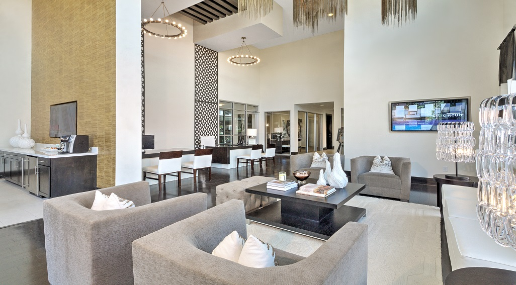 Interior lounge area with great and neutral design elements